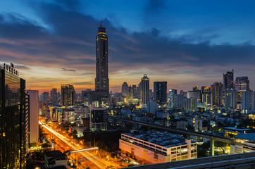 Morning light in Bangkok