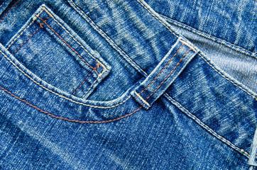 Blue jeans trouser