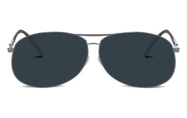 Sunglasses. Aviator retro style. isolated on white background