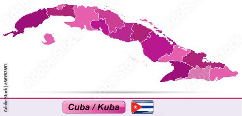 Karte Kuba.Karte Von Kuba Mit Grenzen Stock Image And Royalty Free Vector