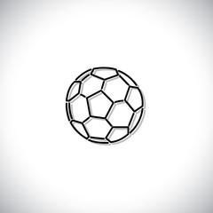 soccer or football vector icon