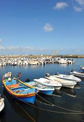 Puerto pesquero de Olhao, Algarve, Portugal