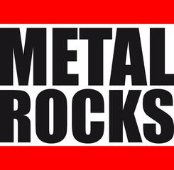 Metal Rocks Design