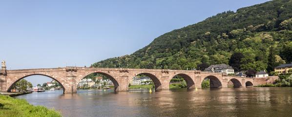 Old bridge in Heidelberg - Germany
