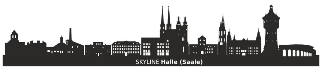 Skyline Halle (Saale)