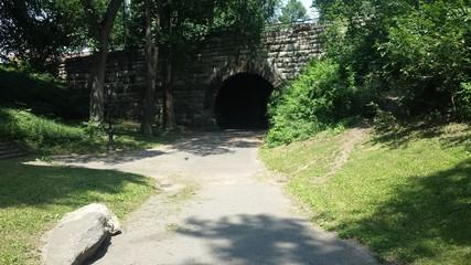 Central park dark tunnel