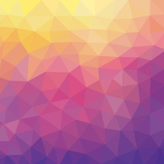 Abstract Geometric Background - Vector Pattern