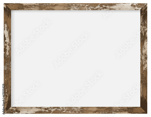 rustic wooden photo frame\