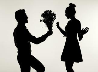 Black&white picture presenting the proposal