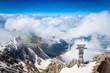 Blick ins Tal - Zugspitze