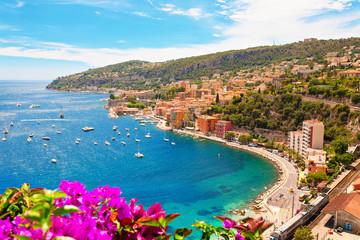 Aluminium Prints Nice Luxury Resort, Villefranche sur Mer, French Riviera, Côte d'Azur