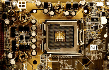 Computer mainboard, integrated circuit