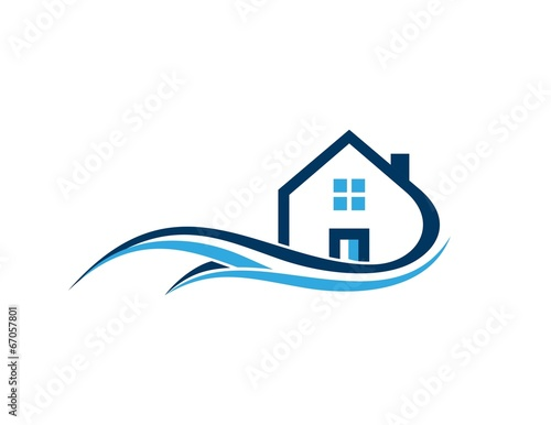 Gentil House, Real Estate, Home , Architecture, Business Logo Design