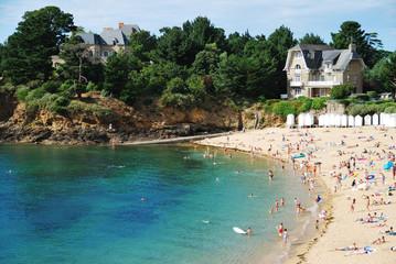 Grande Salinette beach in Saint-Briac, Brittany, France