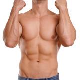 trainierter männerkörper