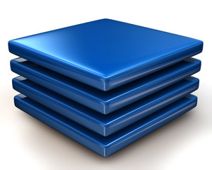 Blue layers Icon