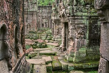Angkor Wat temple ruin, Cambodia
