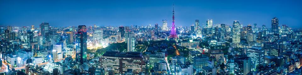 Fotomurales - Tokyo Skyline
