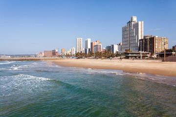 beachfront of Durban, South Africa