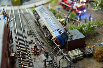 Locomotive accident