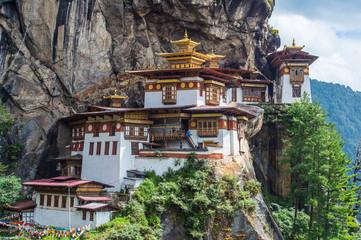 Taktsang Palphug Monastery Paro Bhutan Wall mural