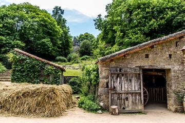 Village du moyen âge au Puy du Fou