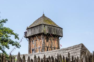 Donjon du Fort de l'An Mil au Puy du Fou