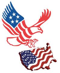 American map flag