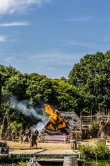 L'attaque du Fort de l'An mil par les Vickings au Puy du Fou