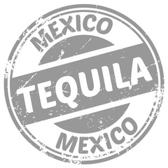 tequila rubber stamp