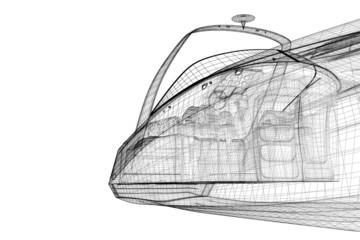 speedboat, Speeding Powerboat