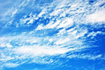 sky with clouds closeup