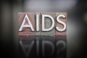 AIDS Awareness Letterpress