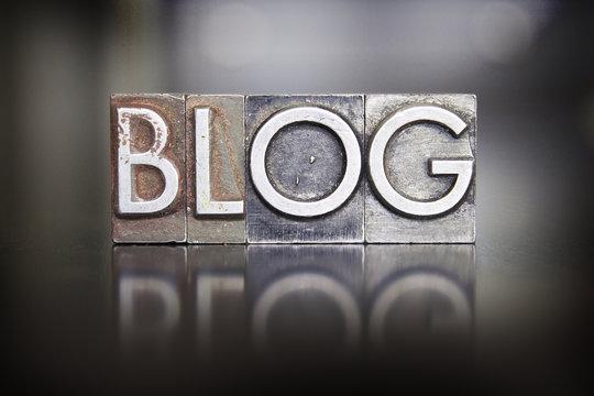 Blog Letterpress Type