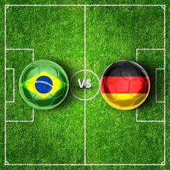Halbfinale - Deutschland vs. Brasilien