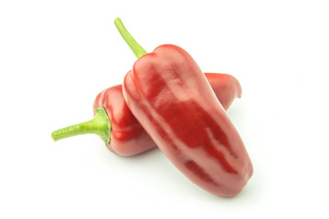 Wall Mural - Two Sweet Pepper - Clipping Path Inside
