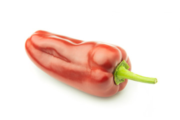 Wall Mural - One Sweet Pepper - Clipping Path Inside