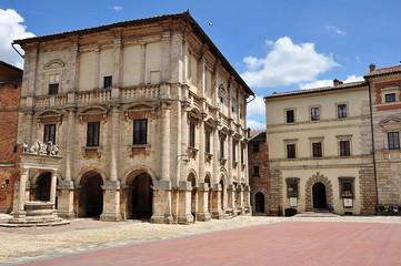 Marktplatz in Montepulciano