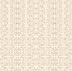 Lace beige pattern.