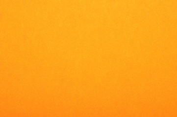 Close up of orange colored paper texture