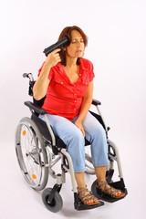 Behinderte Frau begeht Selbstmord