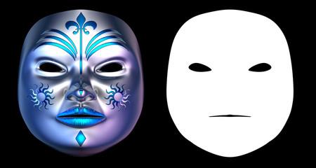 Harlequin Mask III