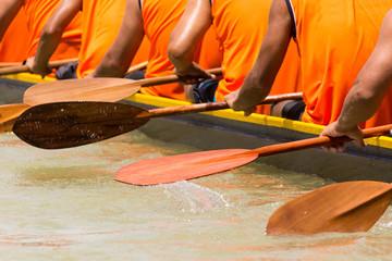 Wall Mural - rowing team