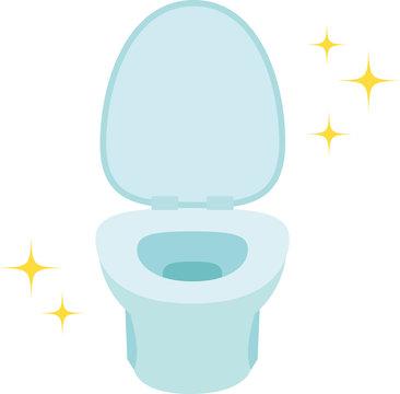 清潔なトイレの便器