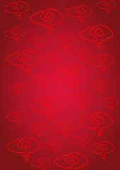 Oriental Chinese pattern background