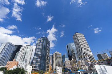大規模開発が進む西新宿五丁目中央北地区(市街地再開発)不燃化特区エリアに