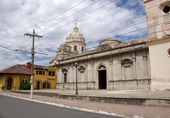 Eglise à Granada, Nicaragua