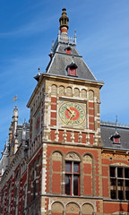 Fotomurales - Amsterdam - Central Station