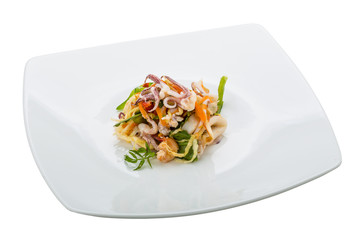 Asian seafood salad