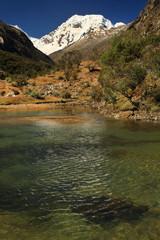 Cohup Valley, Cordiliera Blanca, Peru, South America